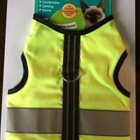 Kitty-Holster-Reflective-Safety-Harness-Extra-Small-Neon-Yellow-0