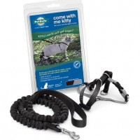 Petsafe-Come-With-Me-Kitty-Harness-and-Bungee-Leash-Large-Black-0