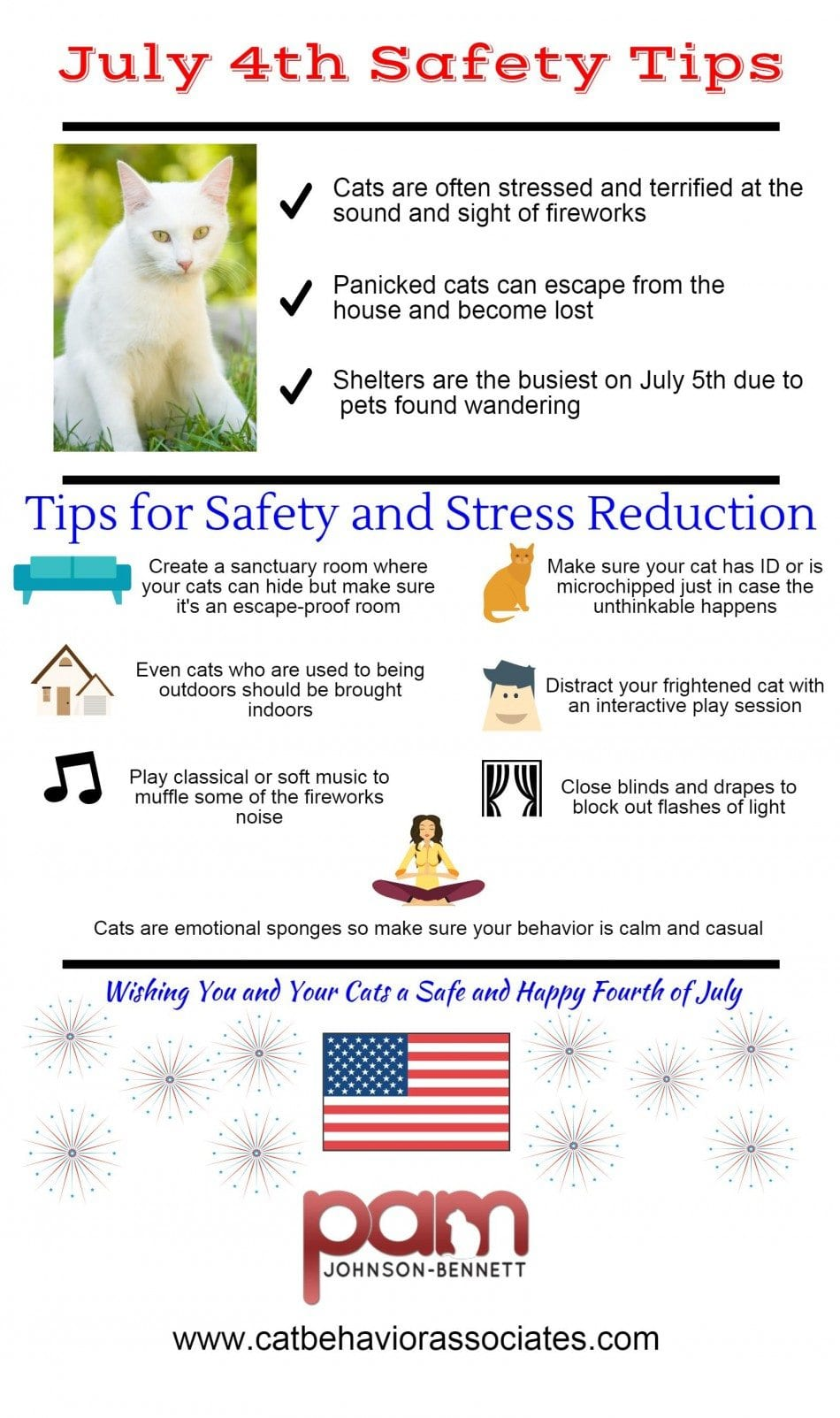 July 4th Cat Safety Tips