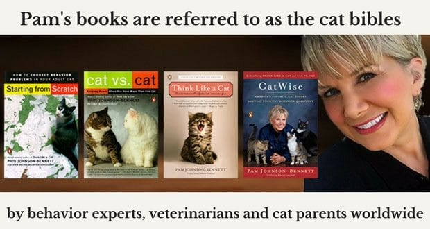 Pam's books are referred to as the cat bibles by behavior experts, veterinarians and cat parents worldwide