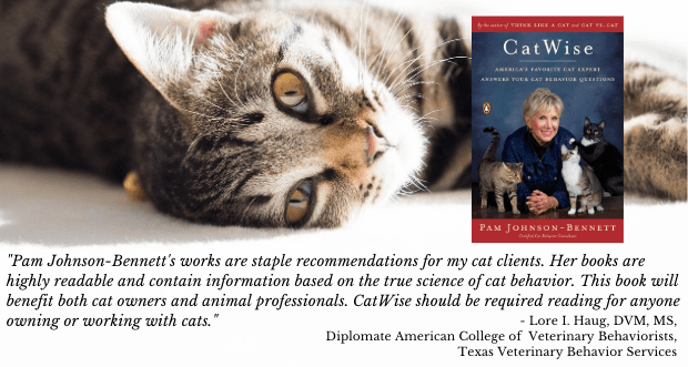 CatWise book and a quote from Dr Lore Haug